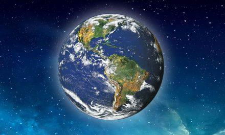 美麗與哀愁-從太空看地球